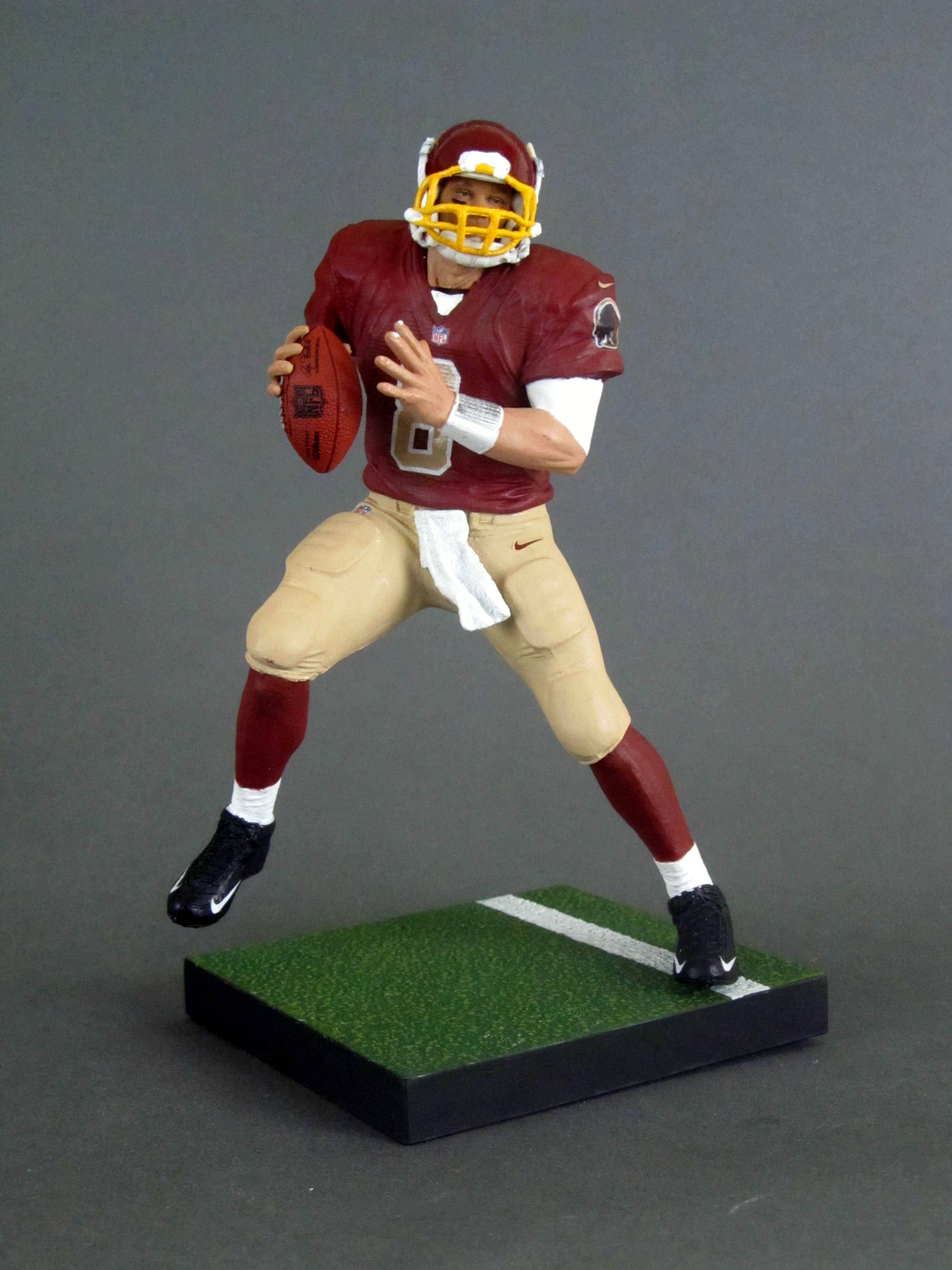 brand new 7ddf8 20c52 Kirk Cousins 1, Washington Redskins – Play Action Customs