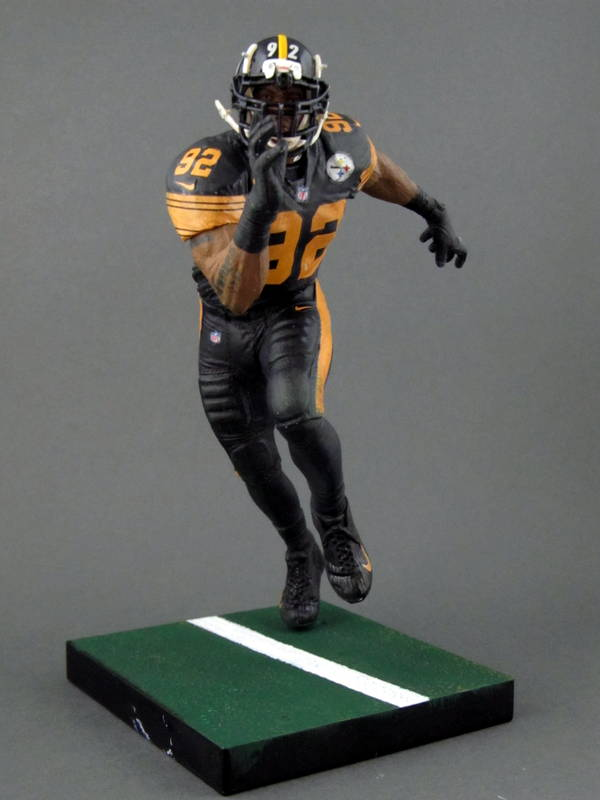 new arrival 7b950 04207 James Harrison 6, Pittsburgh Steelers Color Rush – Play ...