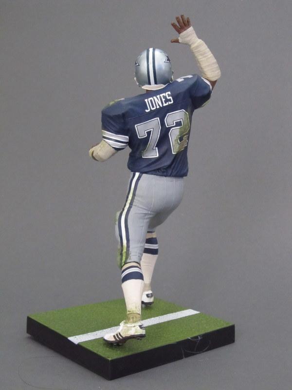 "official photos f524d 109b2 Ed ""Too Tall"" Jones 1, Dallas Cowboys – Play Action Customs"