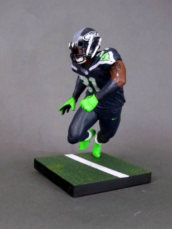 Seattle Seahawks  Kam Chancellor 4 – Play Action Customs e464ec5b3