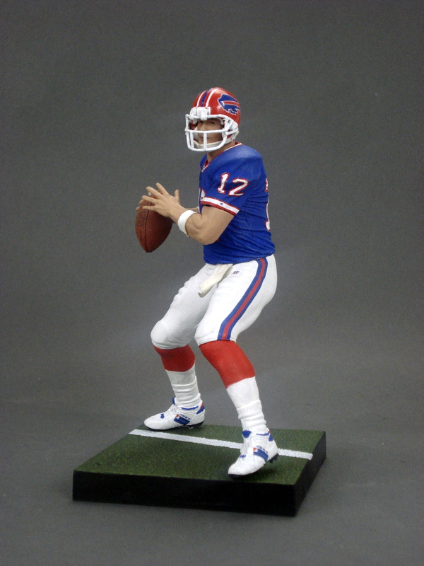 Jim Kelly Play Customs Bills Action 5 Buffalo –