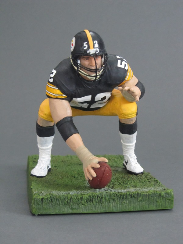 Mike Webster 3 Pittsburgh Steelers 171 Play Action Customs