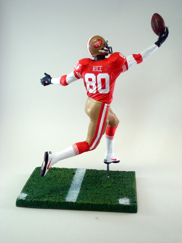 Jerry Rice 3 San Francisco 49ers 171 Play Action Customs