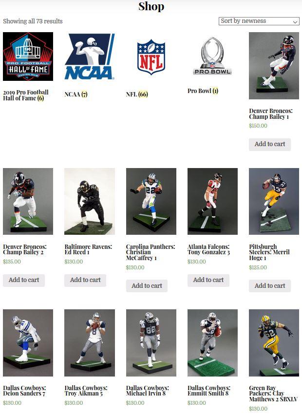"Deion Sanders Dallas Cowboys Jersey Custom 6/"" Mcfarlane Figure"